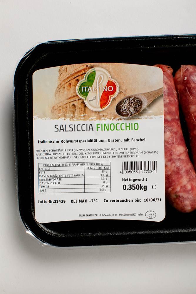Buy Italfino Salsiccia Puro Suino con Finocchio frisch in Berlin with delivery