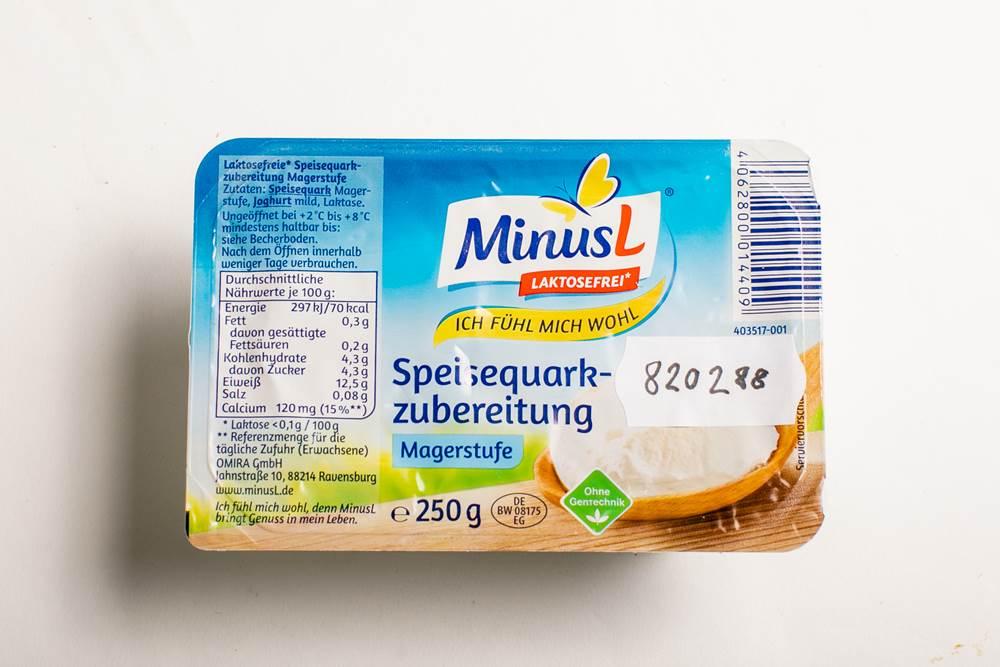 Buy MinusL Speisequarkzubereitung Magerstufe in Berlin with delivery