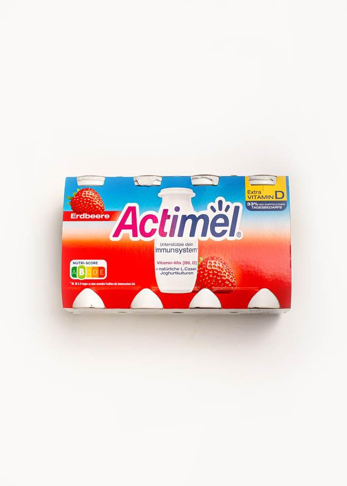 Actimel Erdbeere frisch 8er