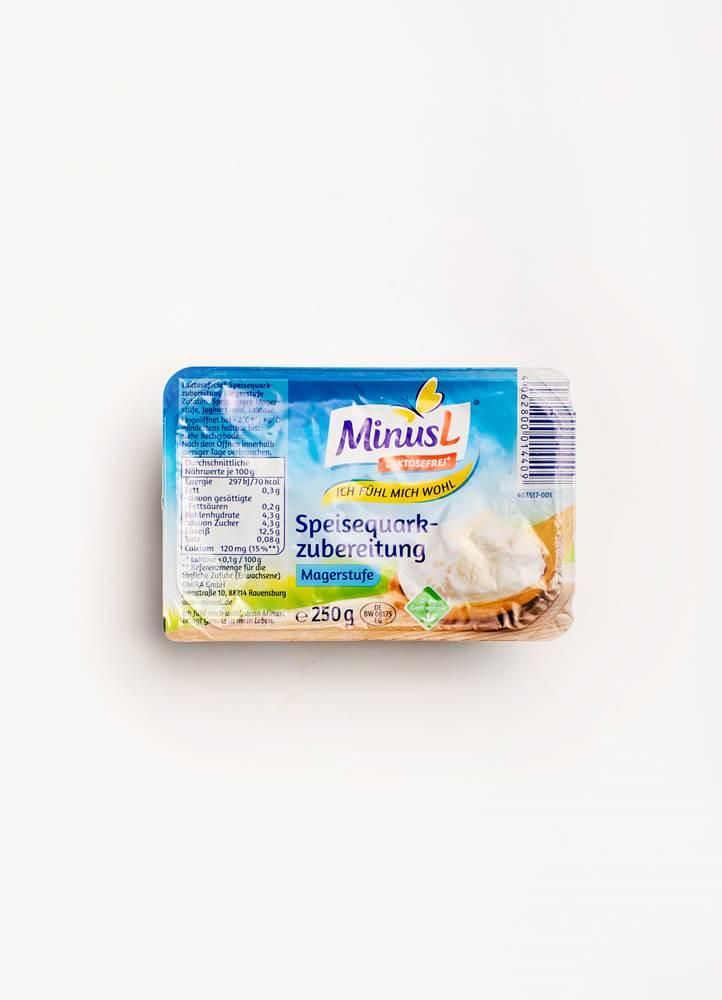 MinusL Speisequarkzubereitung Magerstufe