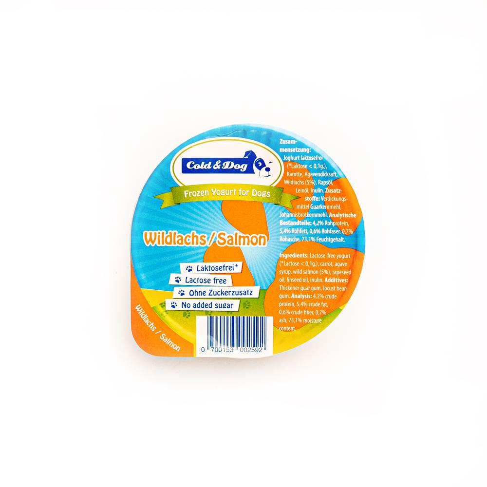 Cold & Dog Frozen Joghurt mit Wildlachs