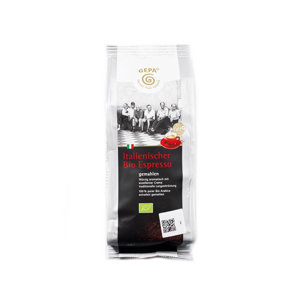 Gepa Bio Espresso gemahlen