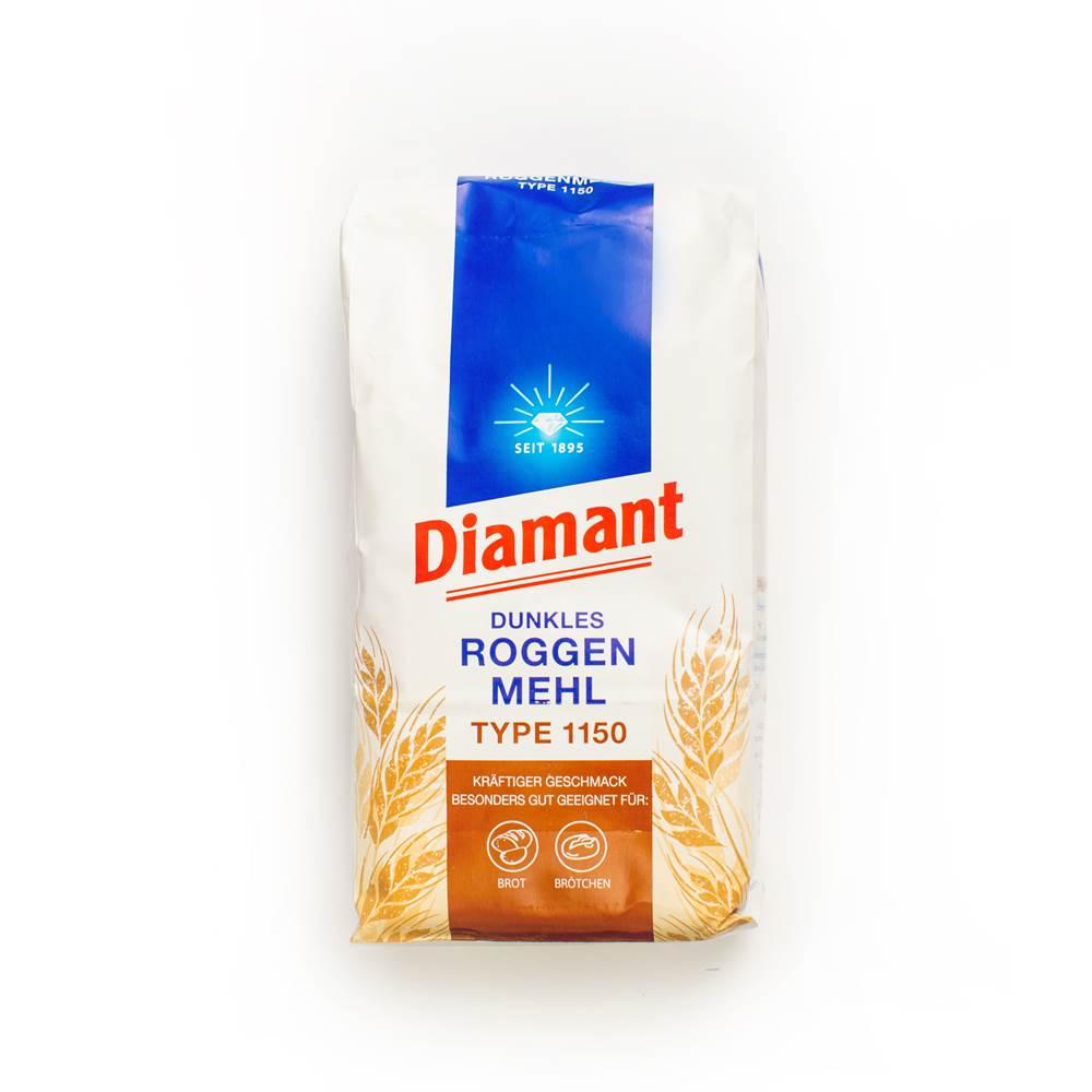Diamant Dunkles Roggenmehl Type 1150