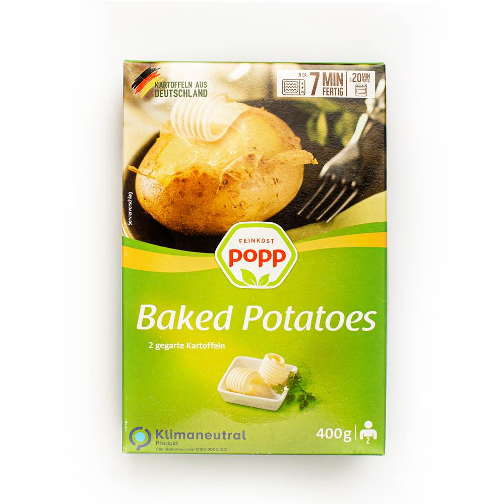 Popp Baked Potatoes