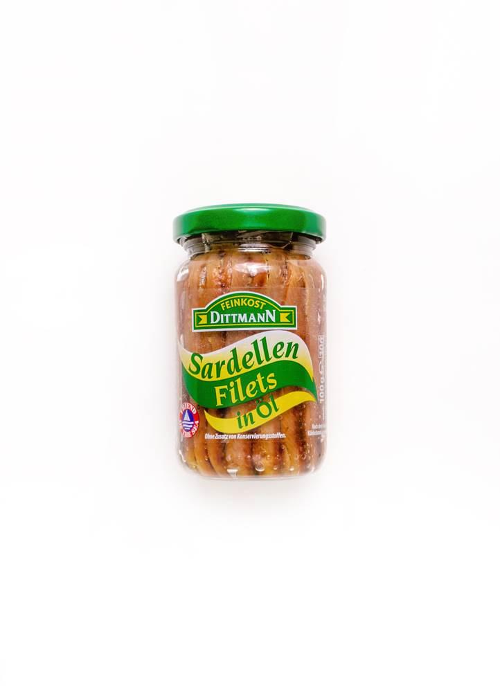 Feinkost Dittmann Sardellen Filets in Öl