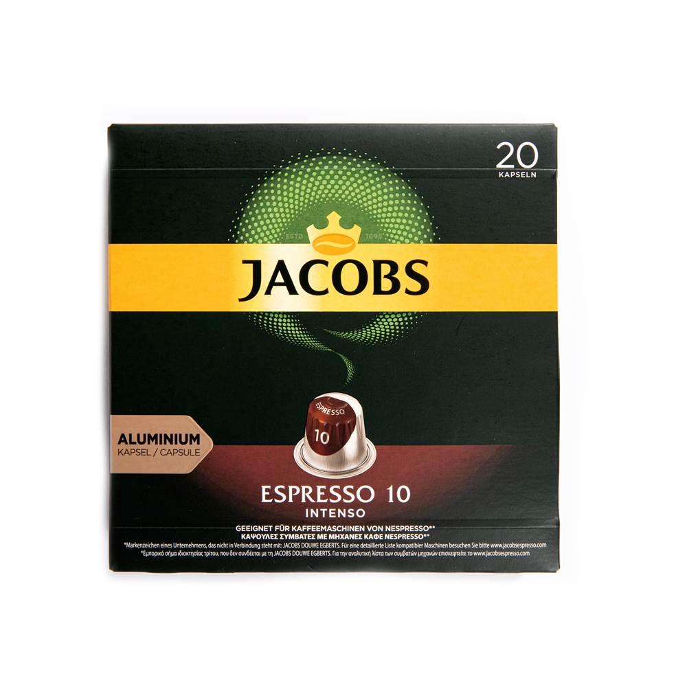 Jacobs Kaffeekapseln Espresso 10 Intenso (für Nespresso)