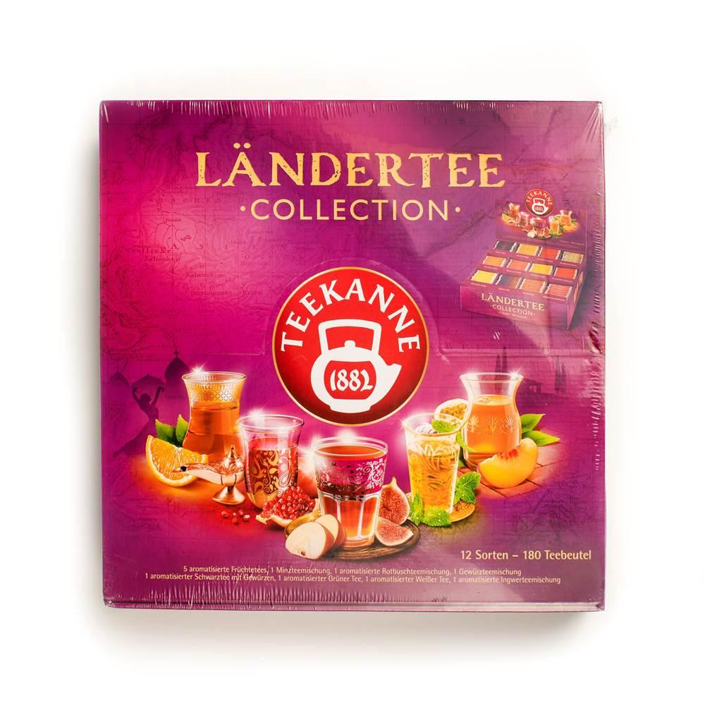 Teekanne Ländertee-Collection Box