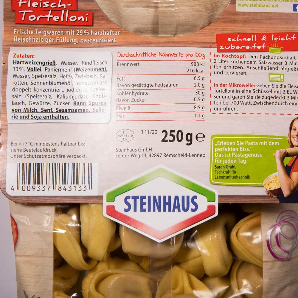 Buy Steinhaus Fleisch-Tortelloni in Berlin with delivery