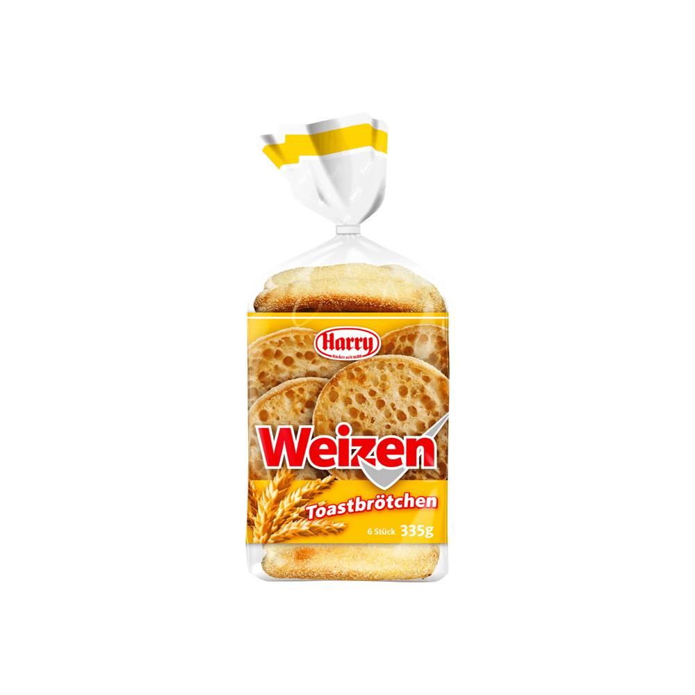 Harry Brot Weizen Toastbrötchen