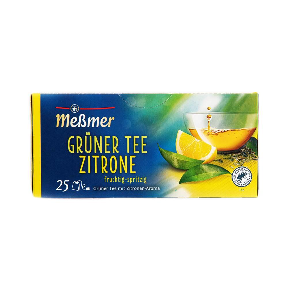 Meßmer Kräuter-Tee Grüner Tee Zitrone