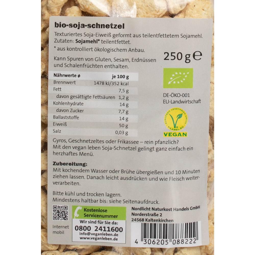 Buy Vegan Leben Bio Sojaschnetzel in Berlin with delivery