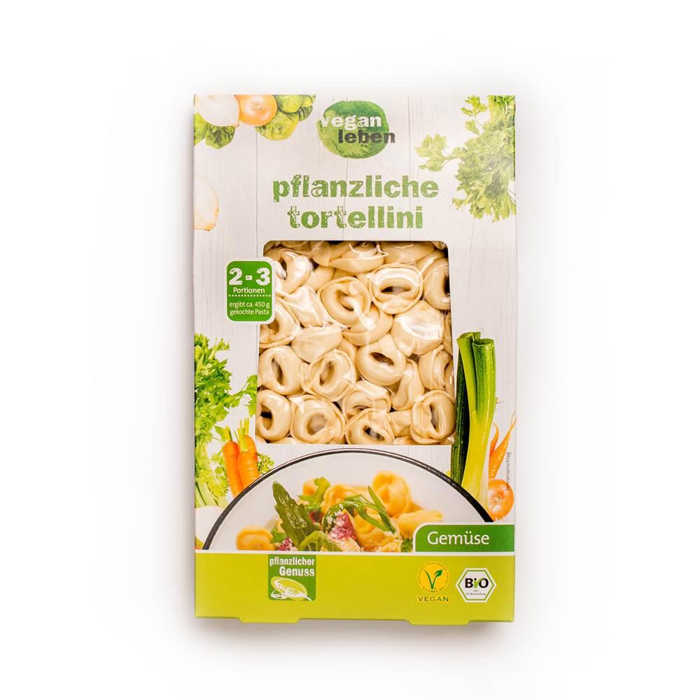 Vegan Leben Pflanzliche Tortellini Gemüse