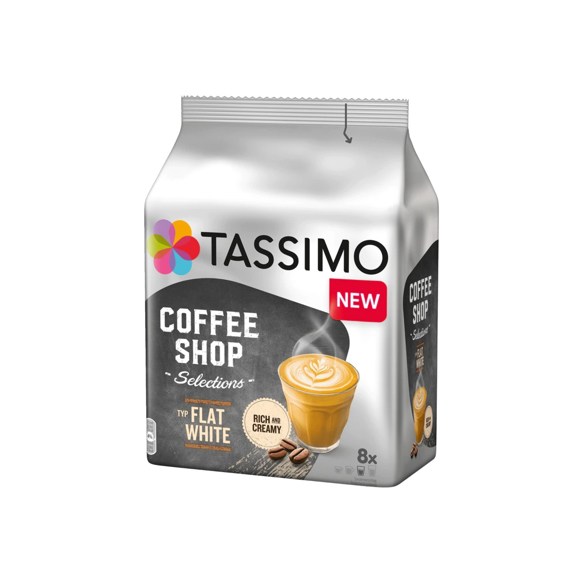 Buy Tassimo Kaffeekapseln Coffee Shop Selections Flat White in Berlin with delivery