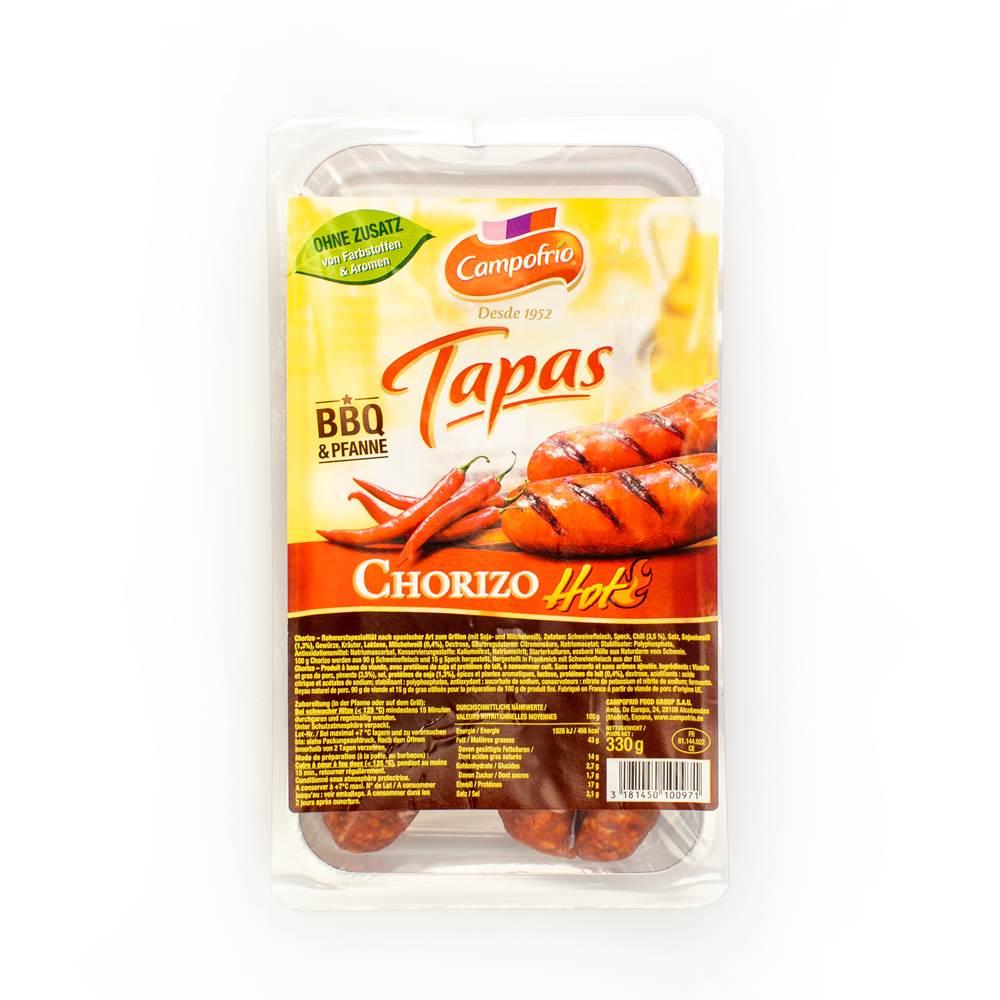 Campofrio Tapas Chorizo Griller, Hot