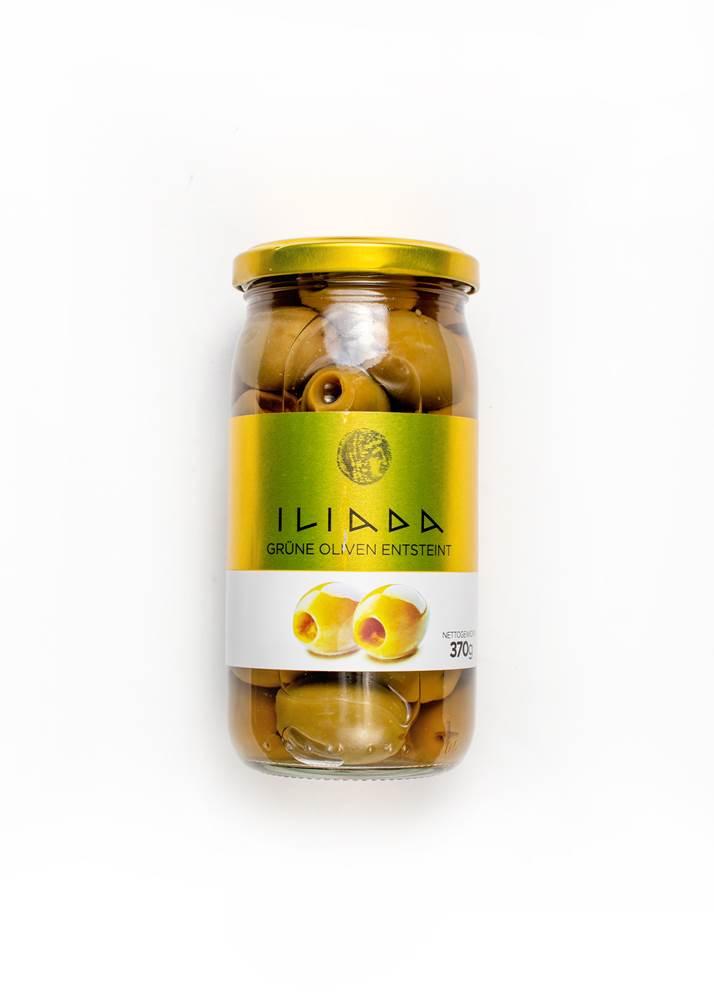 Iliada Griechische Oliven grün entsteint
