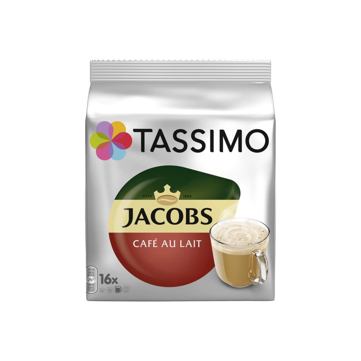 Tassimo Kaffeekapseln Jacobs Café au Lait