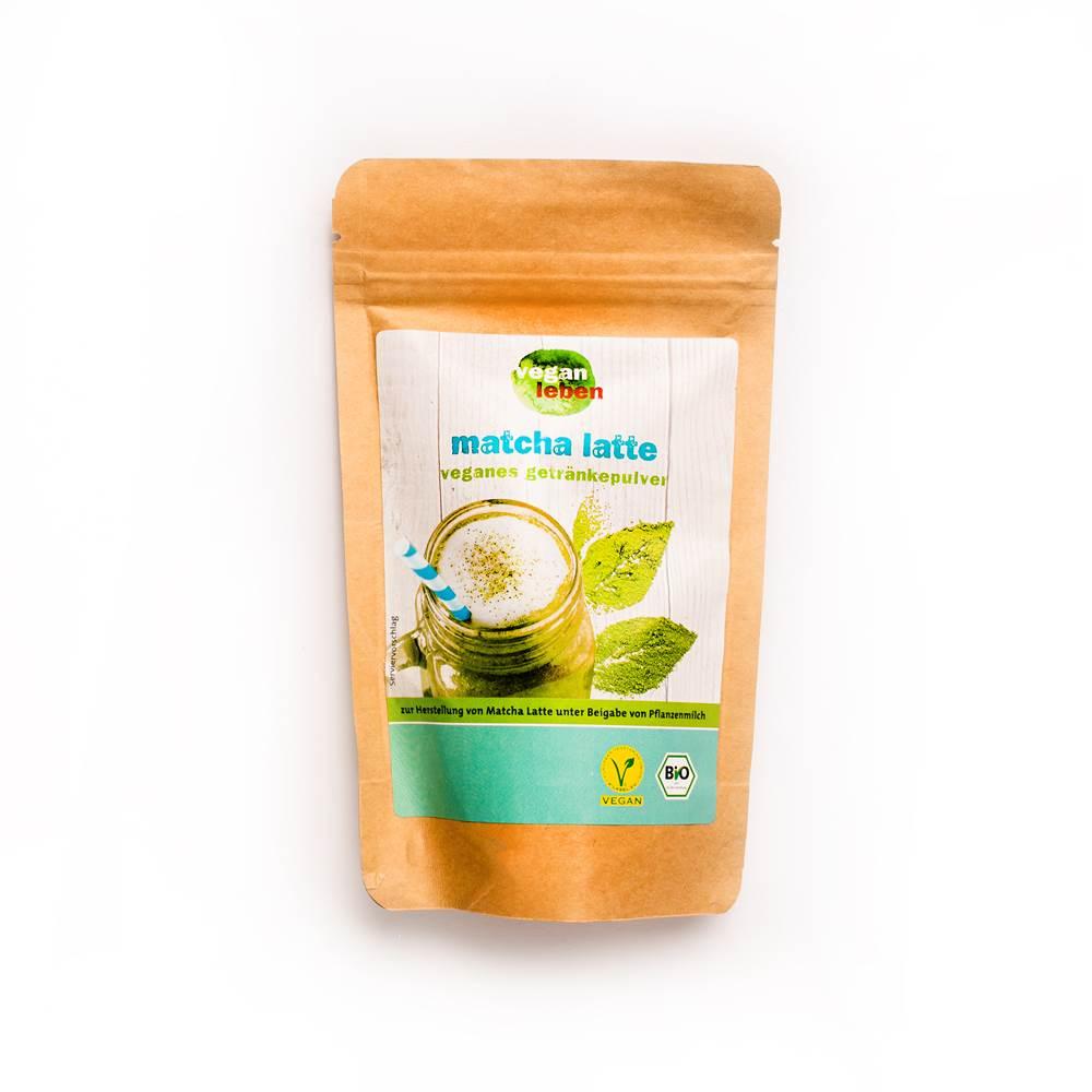Vegan Leben Bio Matcha Latte Getränkepulver