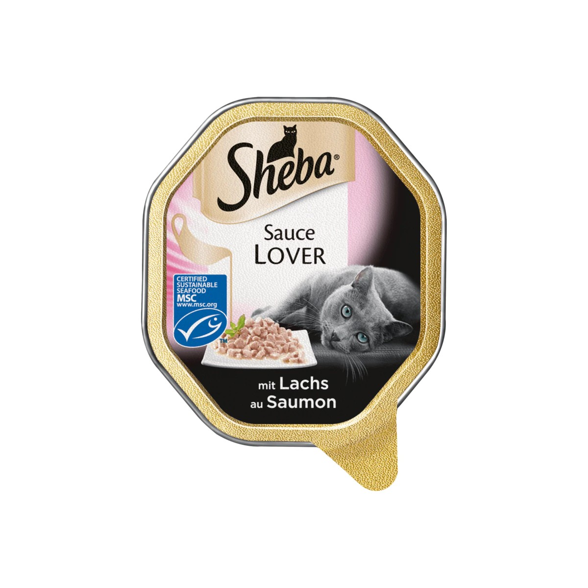 Sheba Sauce Lover mit Lachs