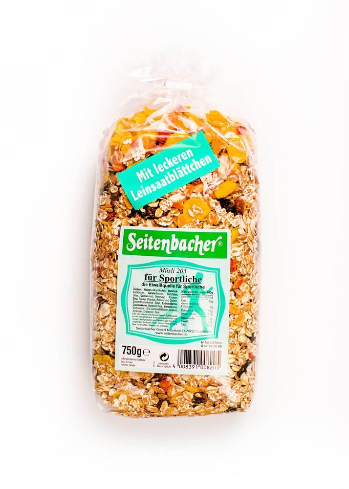 Seitenbacher Müsli Für Sportliche