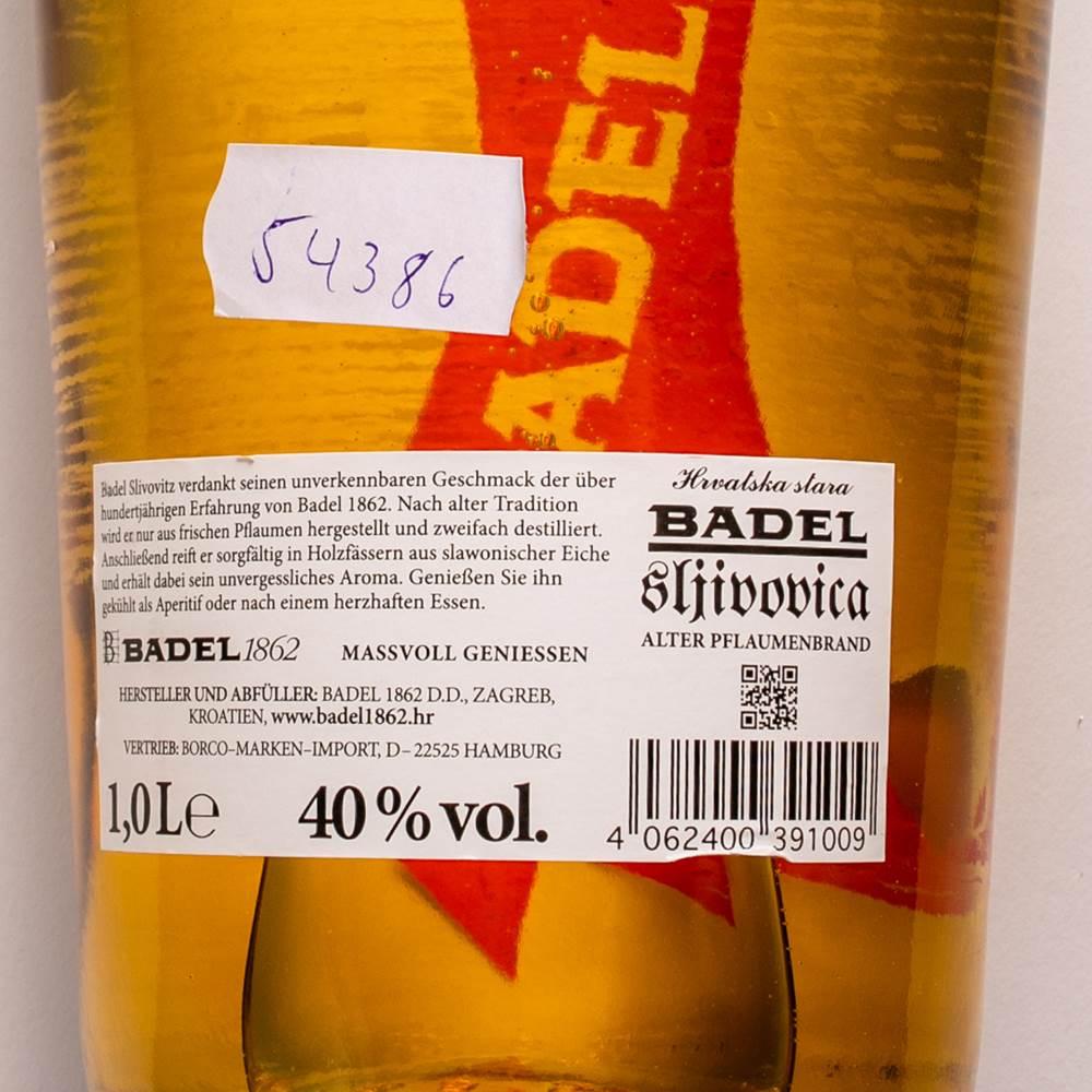 Buy Badel Sljivovica 40% in Berlin with delivery