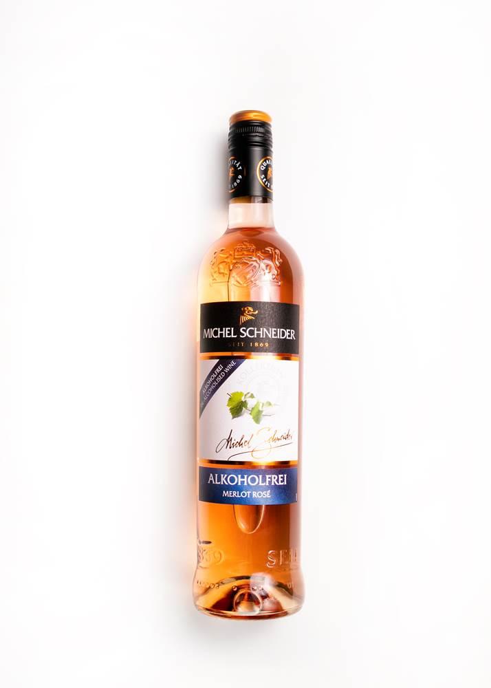 Michel Schneider Merlot Rose alkoholfrei