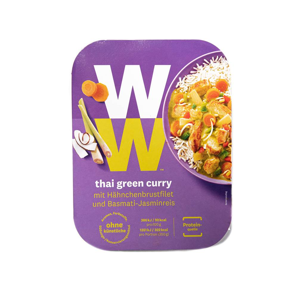 Buy Weight Watchers Grünes Thai Curry in Berlin with delivery