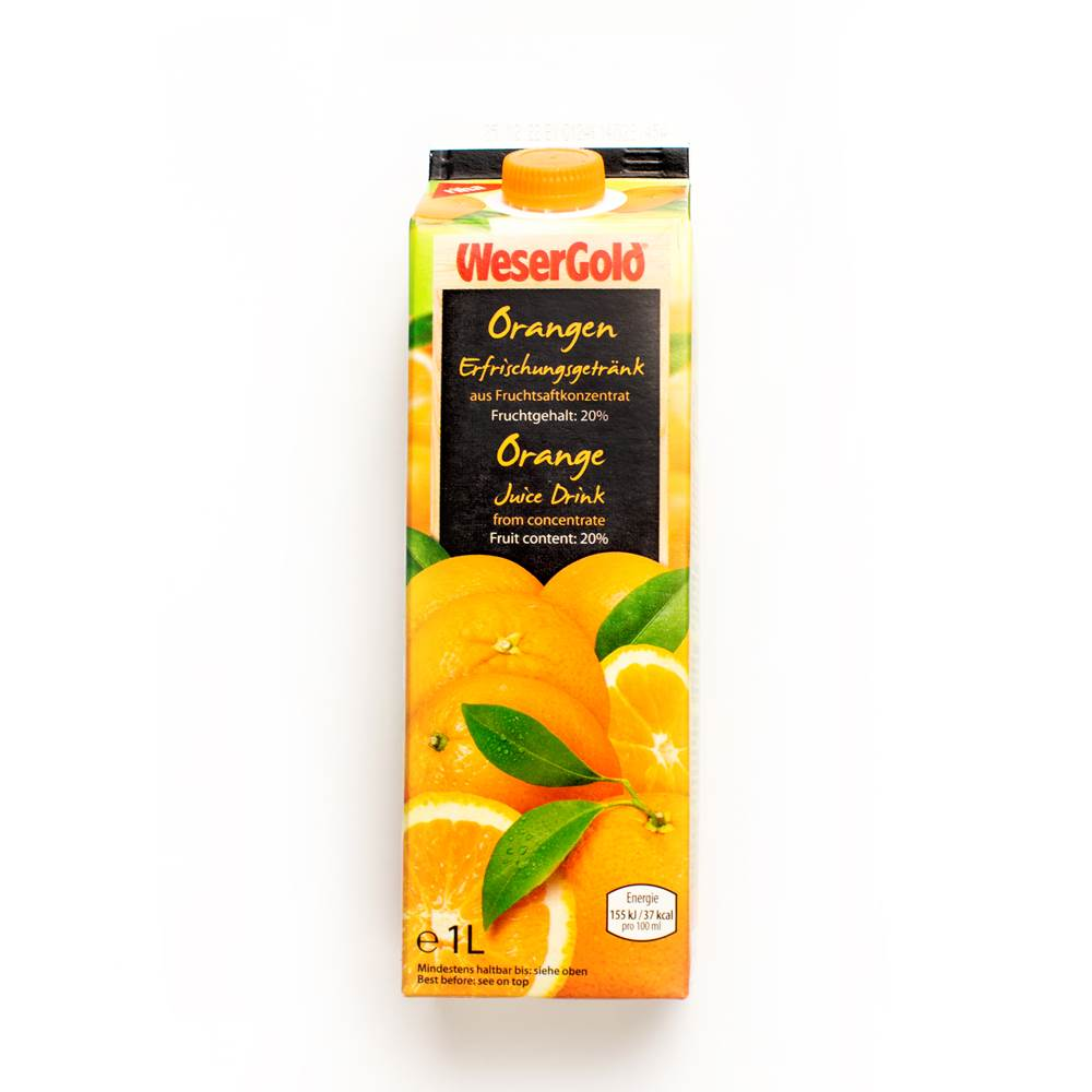 Wesergold Orangen Nektar