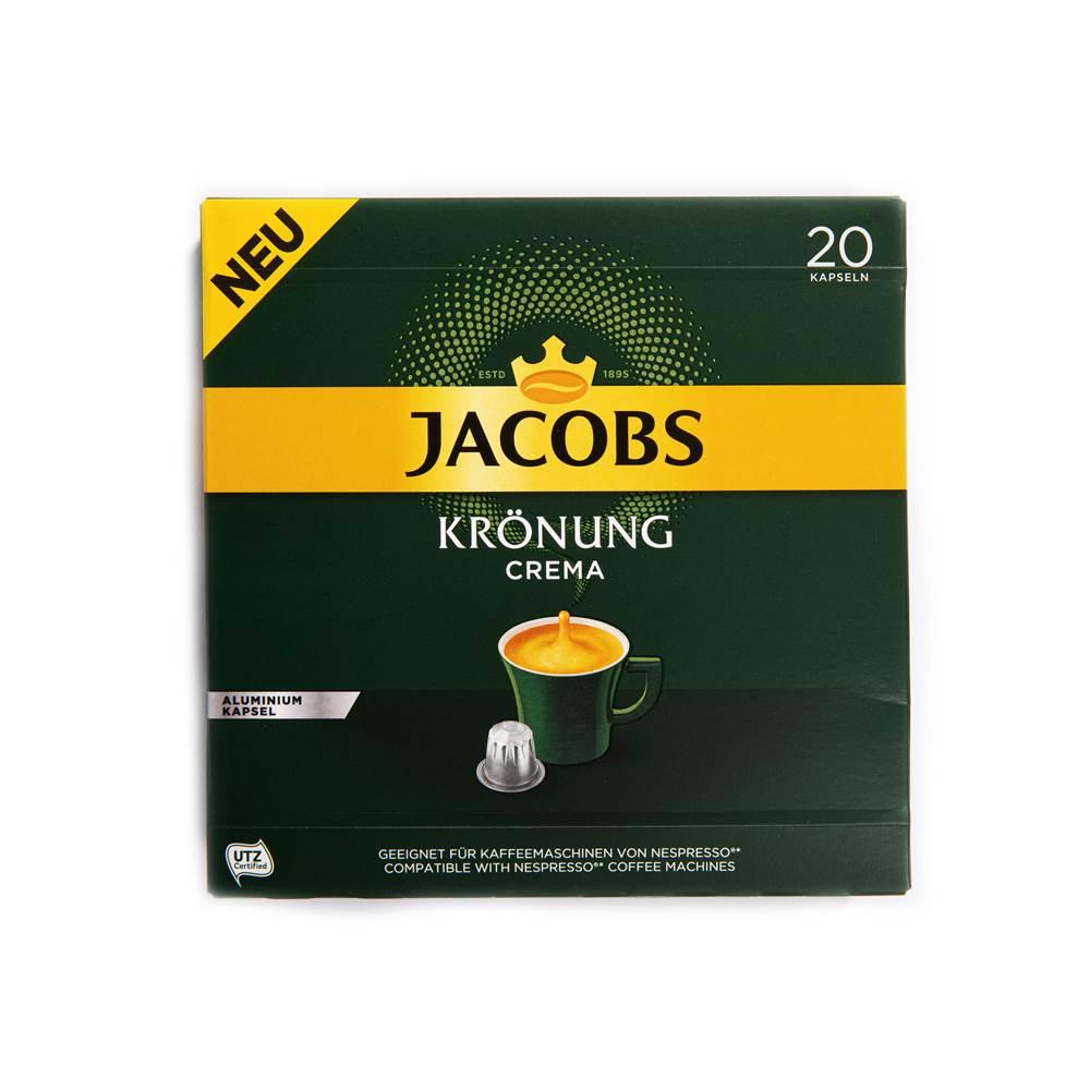 Jacobs Krönung Crema Kaffeekapseln