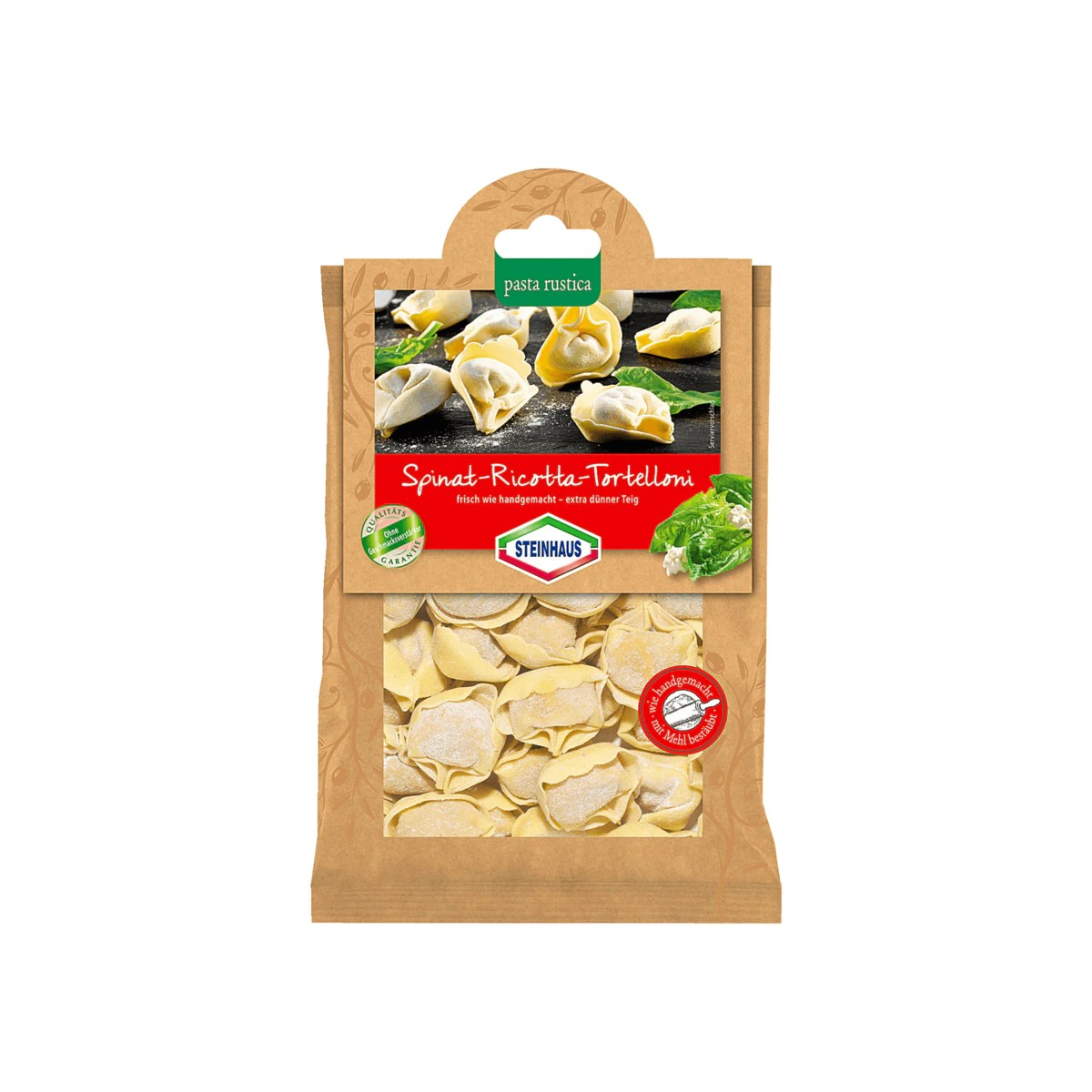 Buy Steinhaus Spinat-Ricotta-Tortelloni in Berlin with delivery