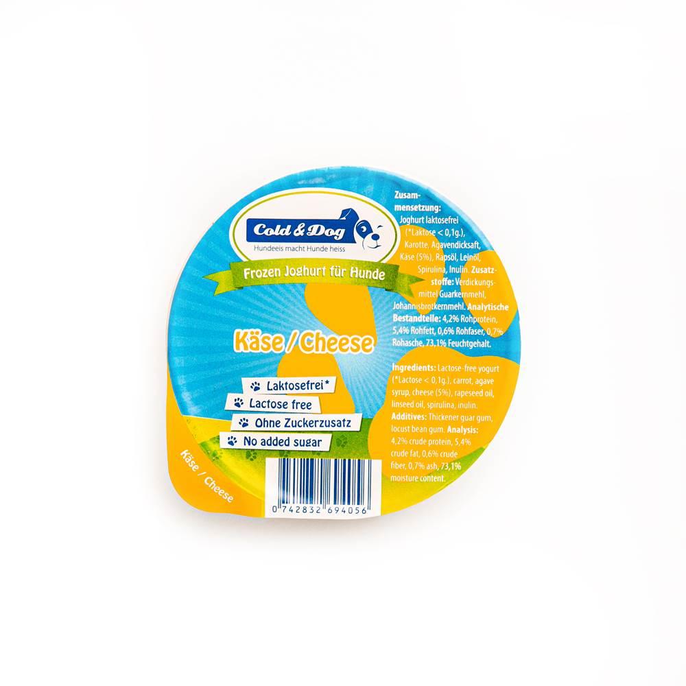 Cold & Dog Frozen Joghurt mit Käse & Spirulina