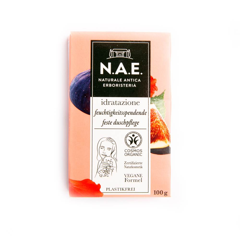 N.A.E. Feuchtigkeitsspendende feste Duschpflege Seife