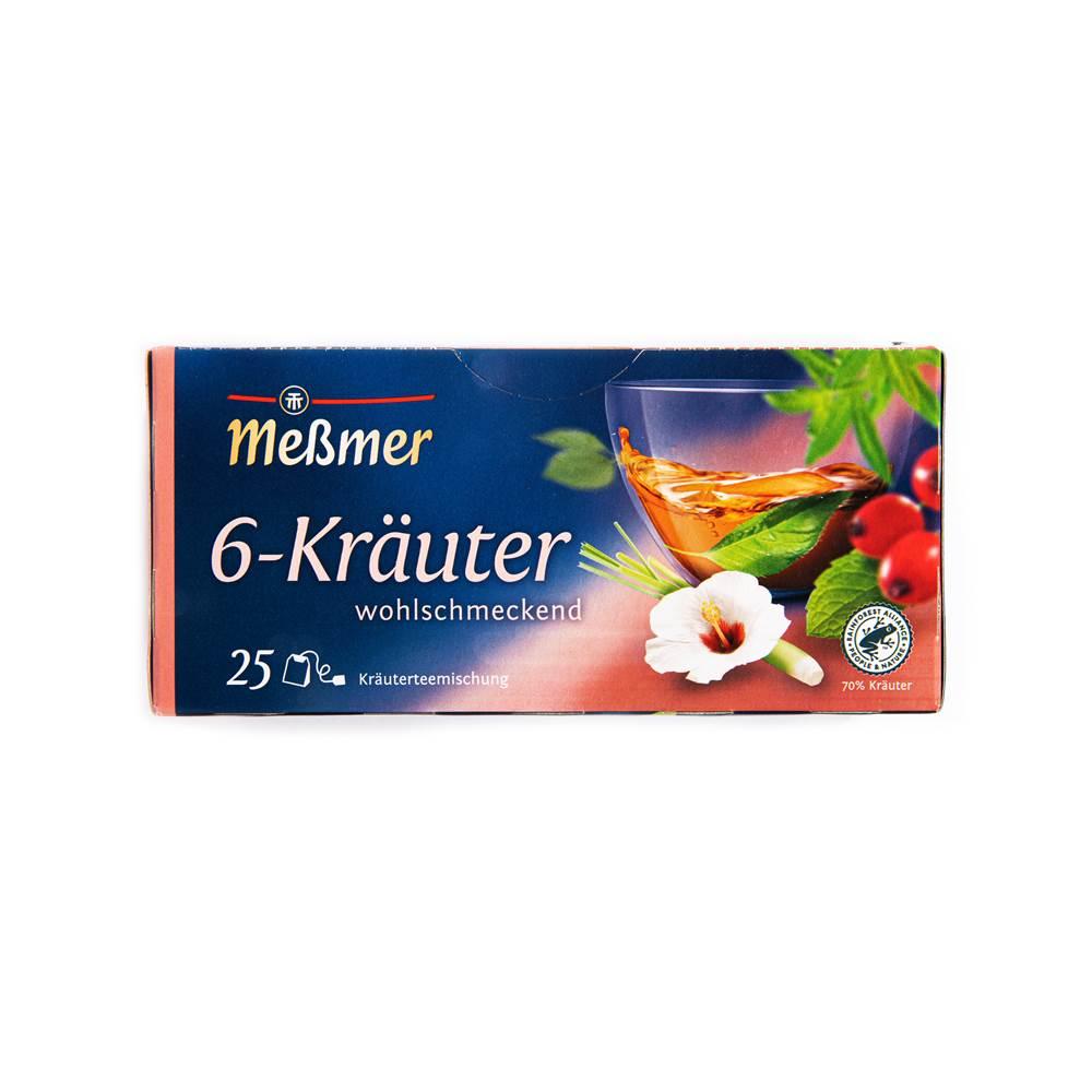 Meßmer Kräuter-Tee 6 Kräuter