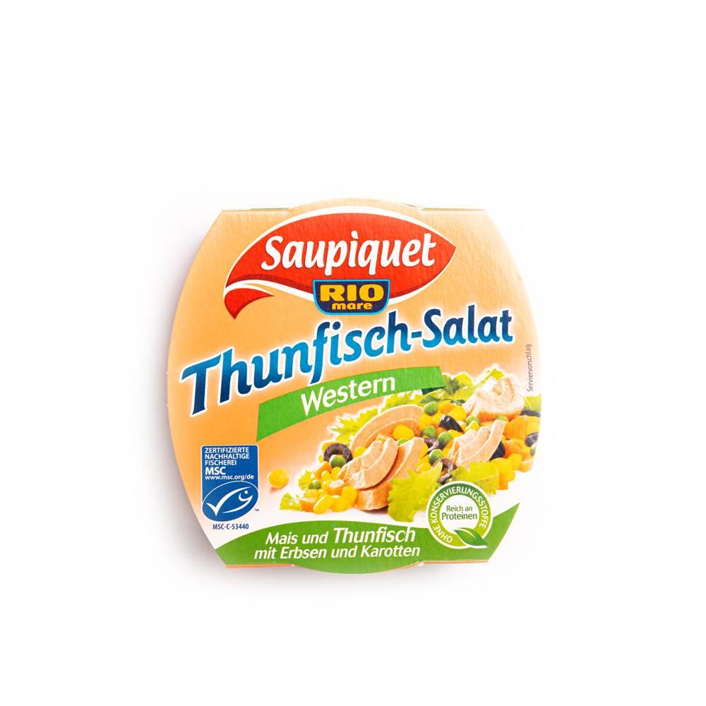 Saupiquet MSC Thunfisch-Salat Western