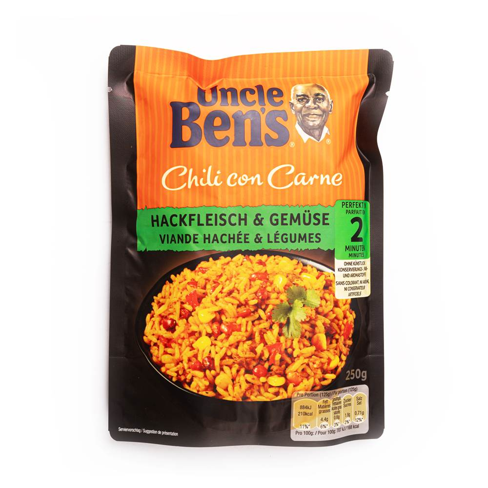 Uncle Ben's Express Chili Con Carne mexikanisch mild