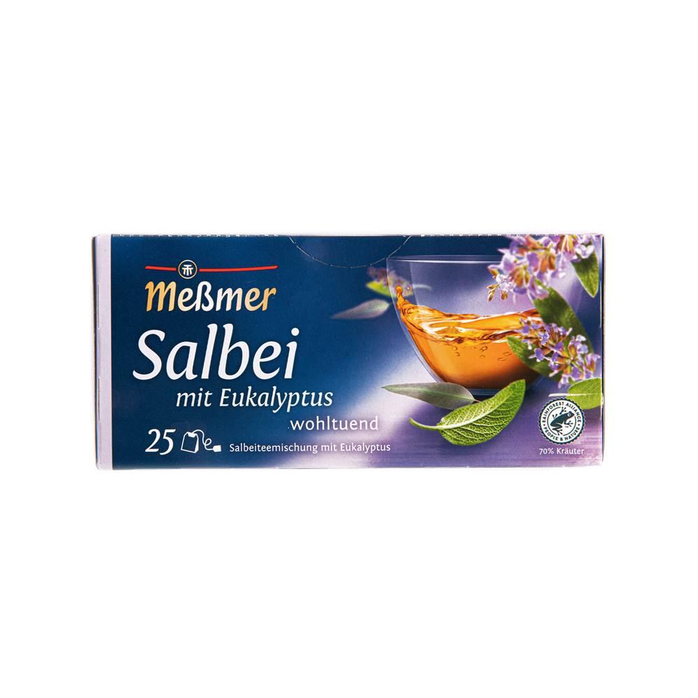 Buy Meßmer Kräutertee Salbeimischung mit Eukalyptus in Berlin with delivery
