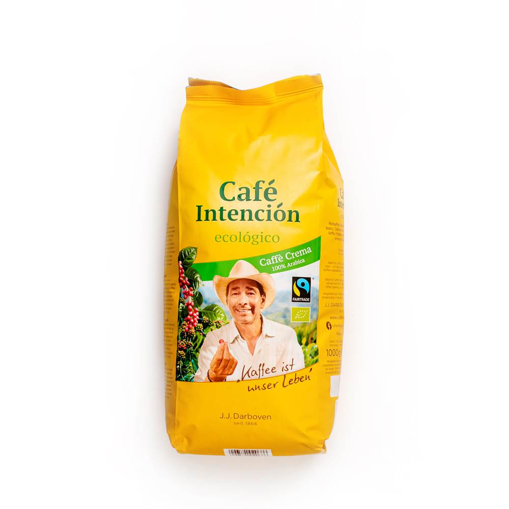Darboven Intencion Cafe Crema Aromatico ganze Bohnen
