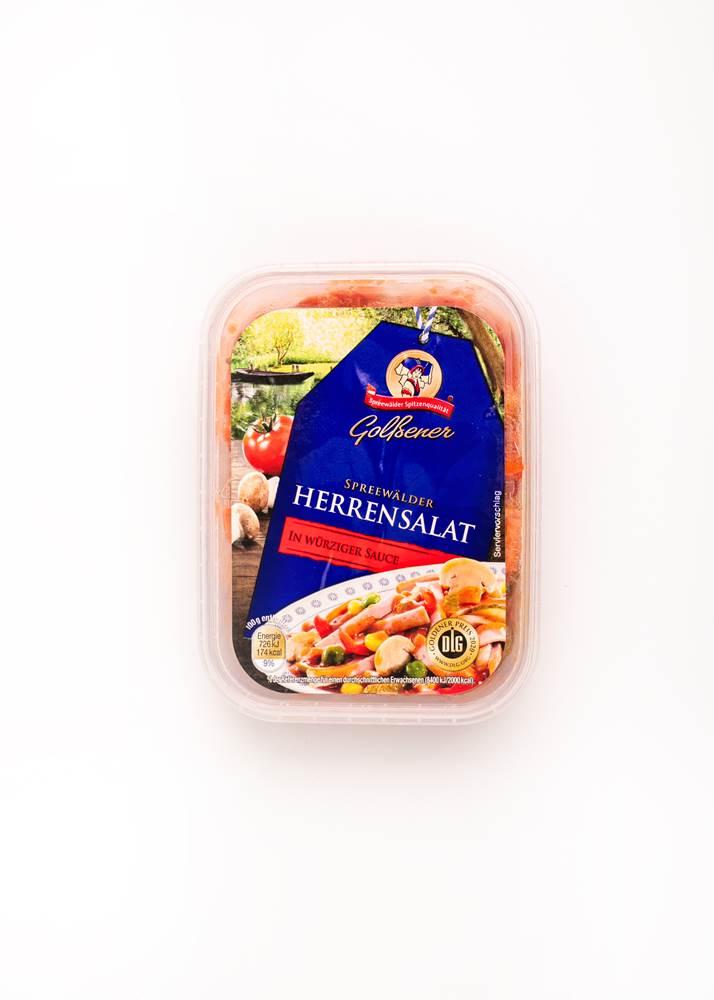 Golßener Herrensalat in würziger Sauce