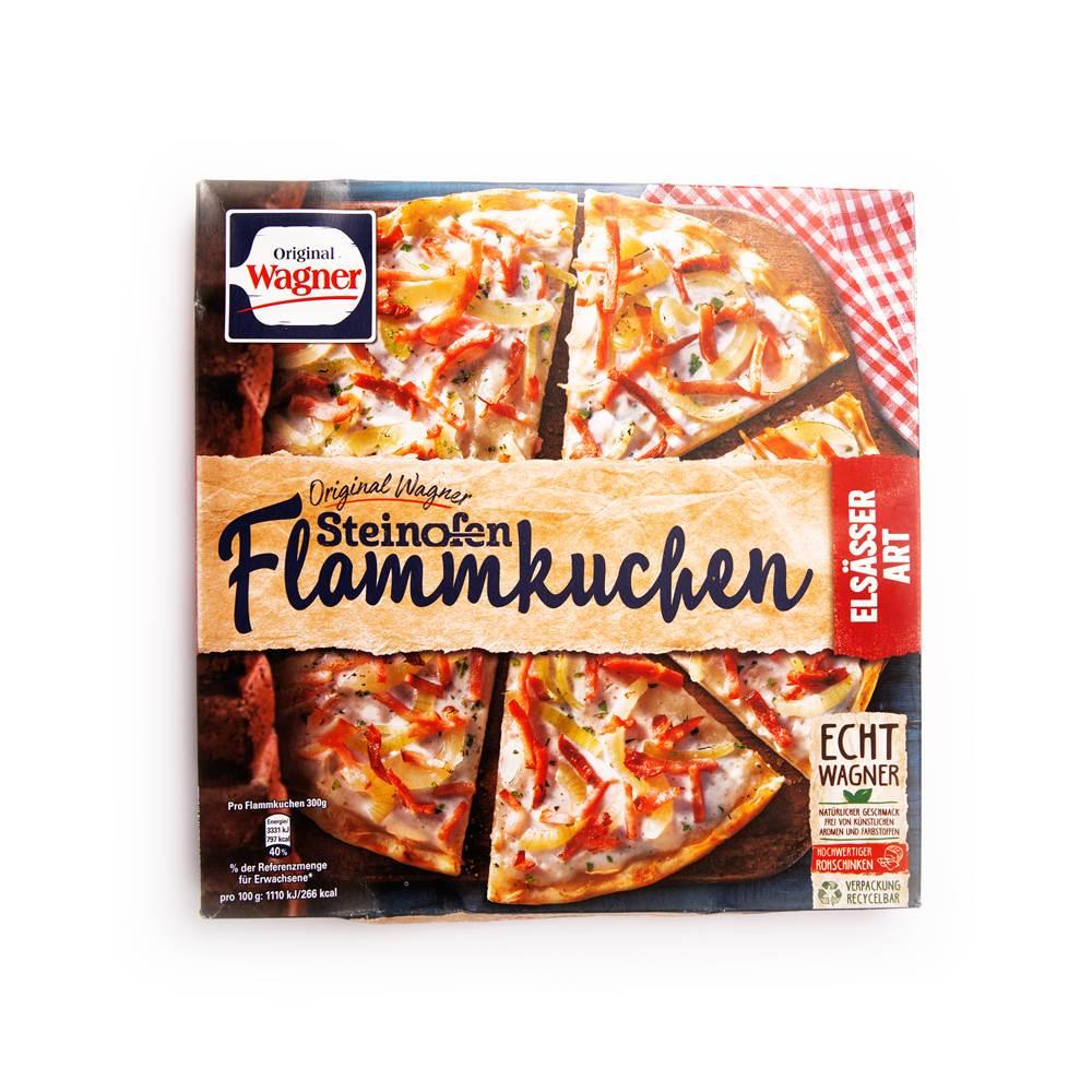 Wagner Steinofen Flammkuchen Elsässer Art
