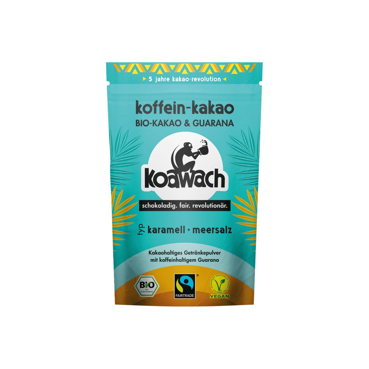 Koawach Bio Koffein-Kakao Karamell + Meersalz