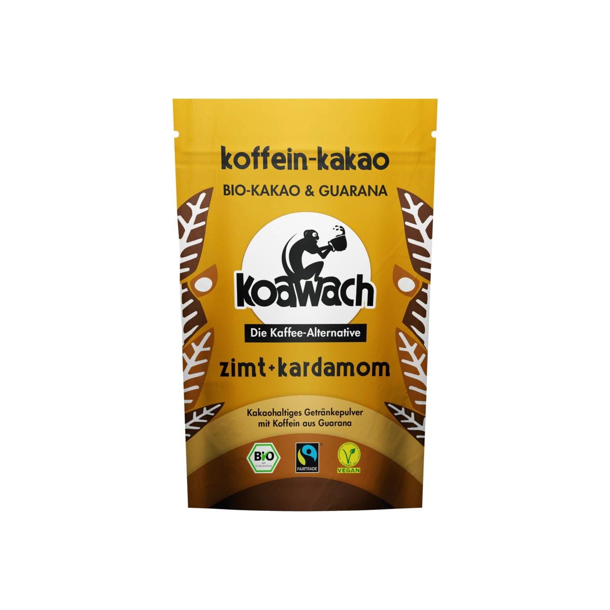 Buy Koawach Bio Koffein-Kakao Zimt + Kardamom in Berlin with delivery