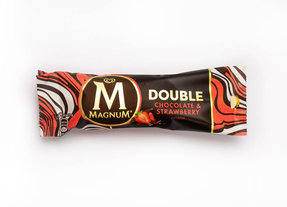 Langnese Magnum Double Chocolate Strawberry TK