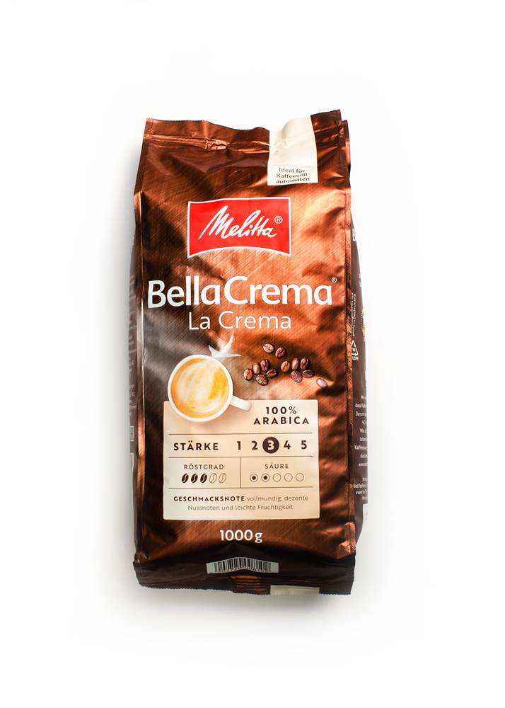 Melitta Bella Crema Café La Crema ganze Bohne