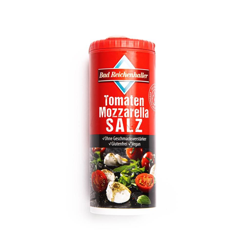 Bad Reichenhaller Tomaten Mozarella Salz