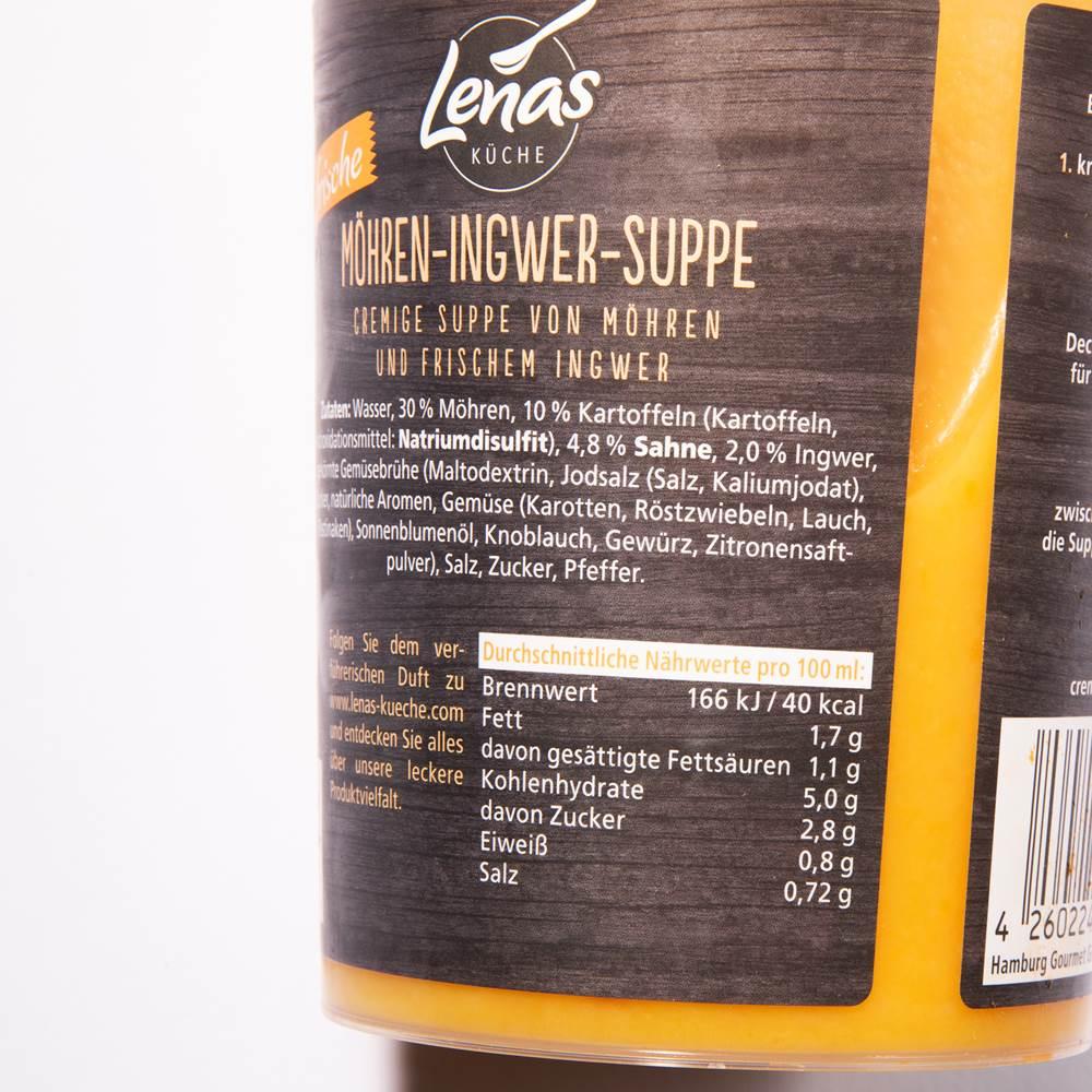 Buy Lenas Küche Möhren-Ingwersuppe in Berlin with delivery