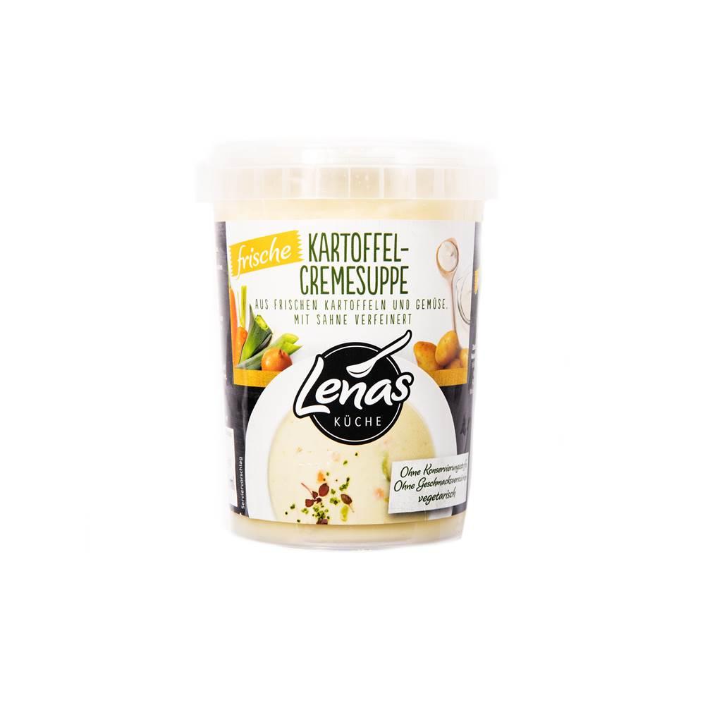 Lenas Küche Frische Kartoffelcremesuppe