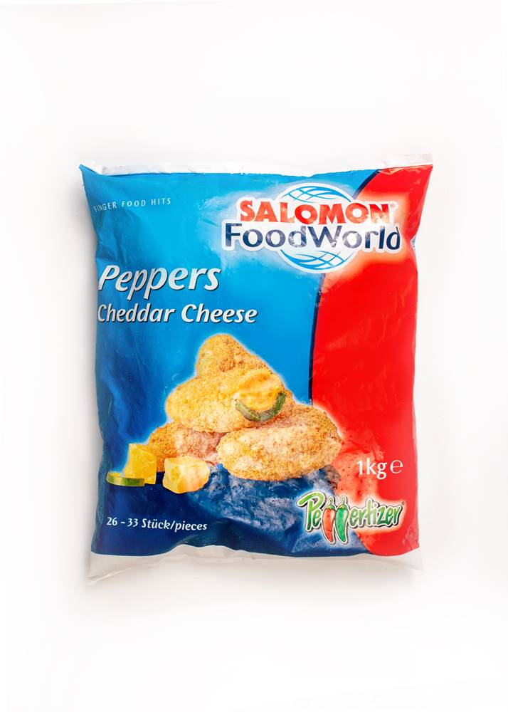 Salomon Peppers Cheddar Cheese