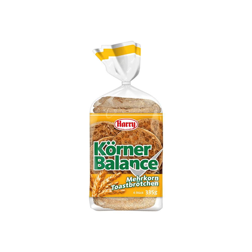 Harry Brot Körner Balance Toastbrötchen