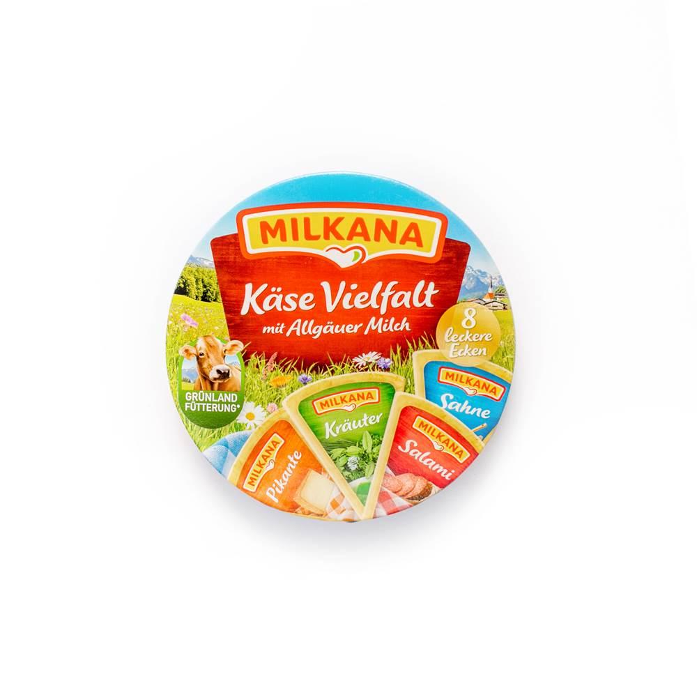 Milkana Schmelzkäse Käse-Vielfalt
