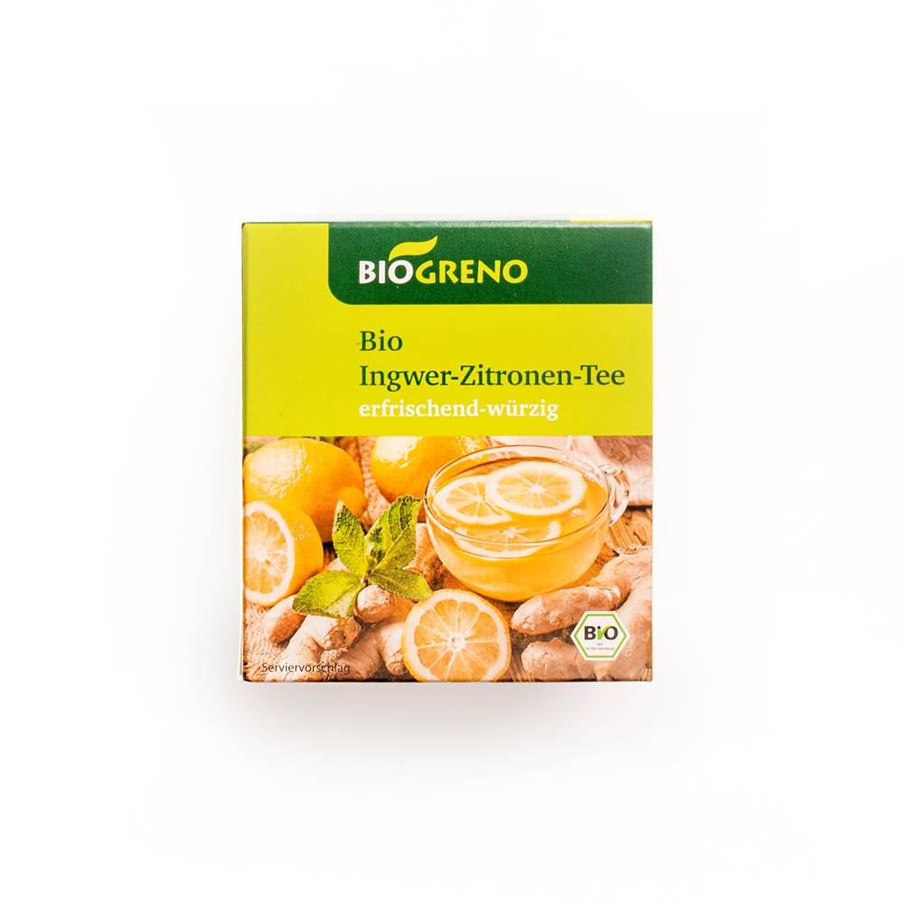 Biogreno Bio Ingwer Zitrone Tee