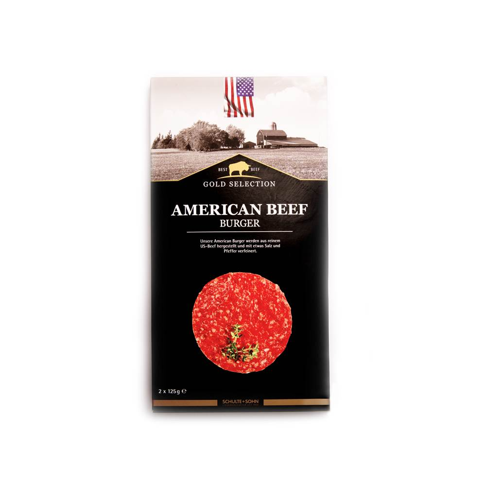 Schulte & Sohn American Beef Burger